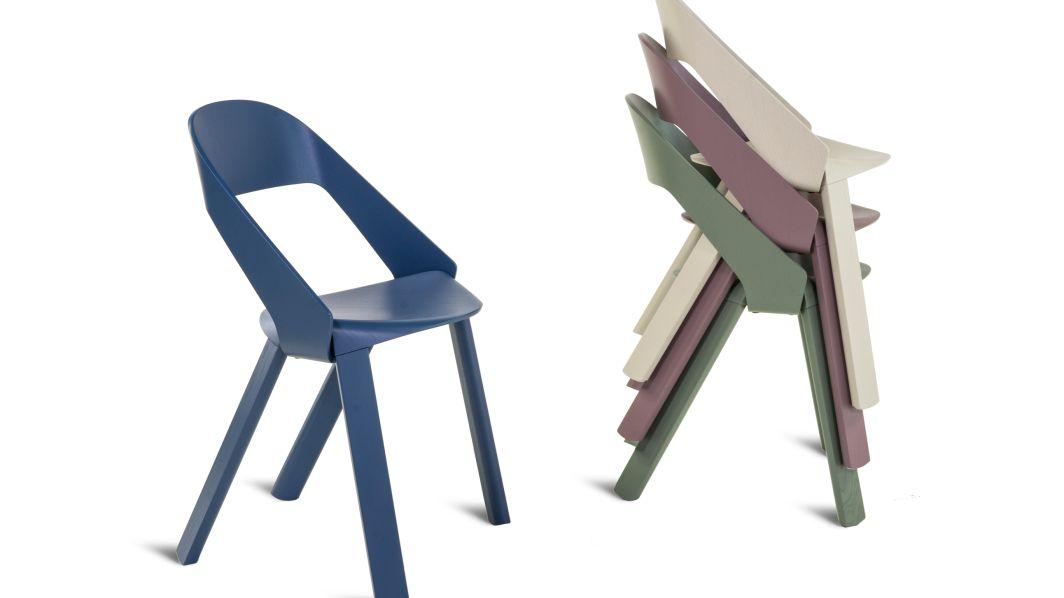Neue farben stapelstuhl for Stapelstuhl bunt